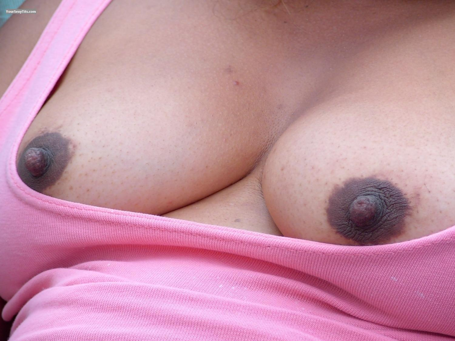 Tit Flash: Medium Tits - Kaylee from Canada